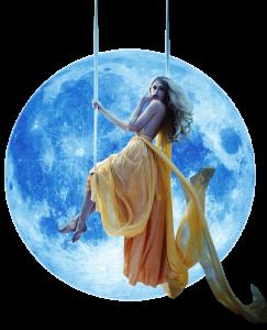 Moon Lady Logo - Selene